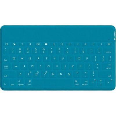 Logitech Keys-To-Go Ultramobile  Bluetooth Tastatur für iOS Grünblau 920-006876