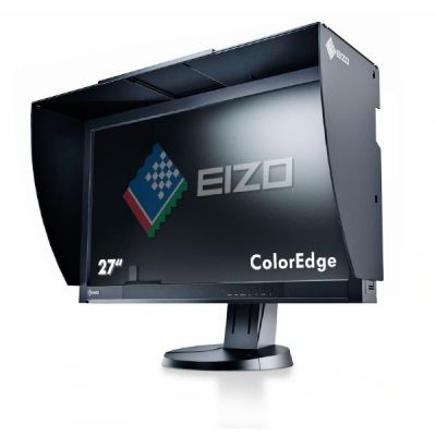 "EIZO  ColorEdge CG277-BK - LED-Monitor - 68.4 cm ( 27"" ) - 2560 x 1440 - IPS - 300 cd/m2 - 1000:1 - 6 ms - HDMI, DVI-D, DisplayPort - Schwarz"