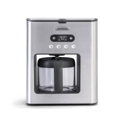 Kenwood CMM 610 Persona Kaffeemaschine mit Glaskaraffe Aluminium gebürstet