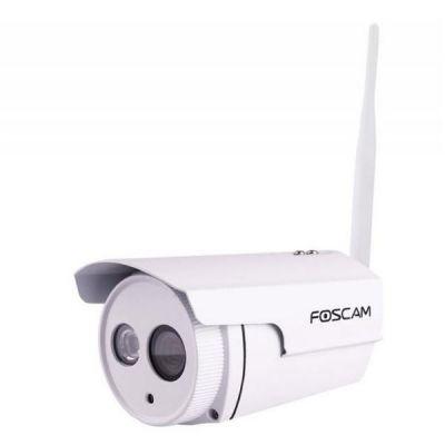 Foscam  FI9803P Wireless Netzwerkkamera Outdoor HD 720p weiß Plug&Play