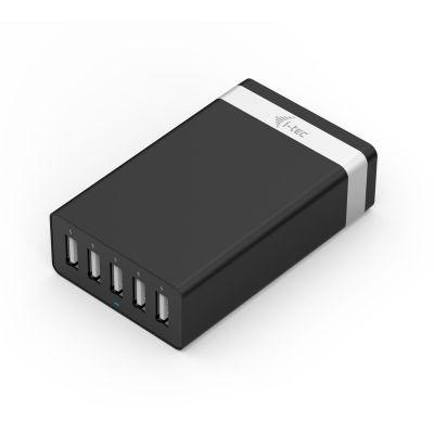 i tec i-tec CHARGER5P40W USB Smart Charger 5-Port für iPad/iPhone Samsung Telefone