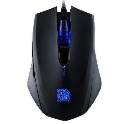 Tt eSPORTS Talon BLU 3000dpi optische Gaming Mouse schwarz