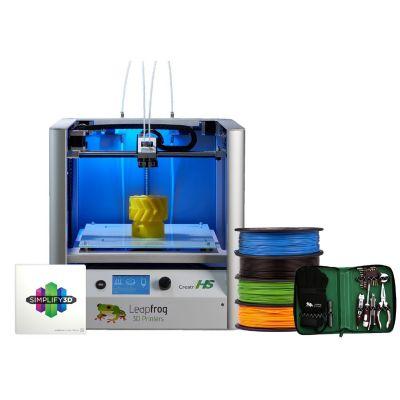 Leapfrog Creatr HS 3D-Drucker (A-01-74) Starter-Paket inkl. Filament + Werkzeug