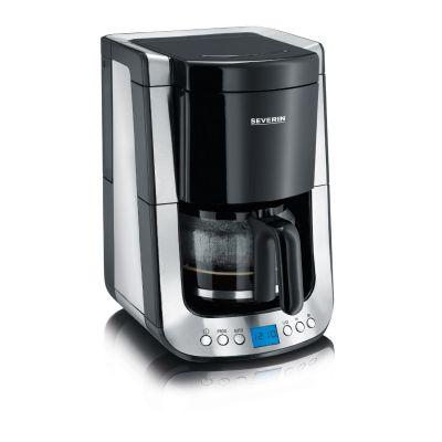 Severin KA 4460 Kaffeautomat mit Timer Supreme Edelstahl-schwarz