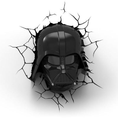 Star Wars 3D Darth Vader Light Wandlampe