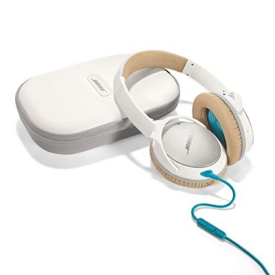 Bose BOSE Quietcomfort 25 Over Ear Weiss - Noise Cancelling Kopfhörer für Android