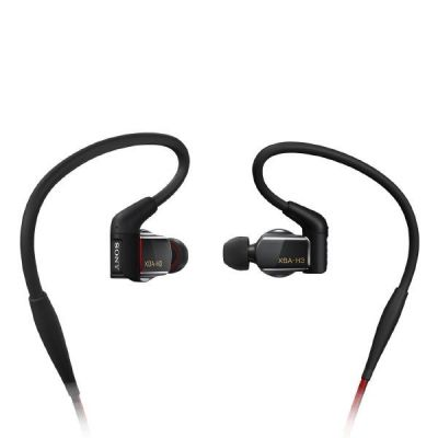 Sony XBA-H3 In Ear Kopfhörer mit Beat Response Control – Schwarz