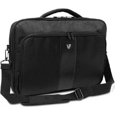 "V7 Professional 2 Frontloader 16"" Notebooktasche schwarz"