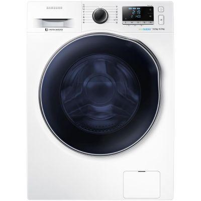 Samsung  Waschtrockner WD6000 WD90J6400AW/EG, A, 9 kg / 6 kg, 1.400 U/Min