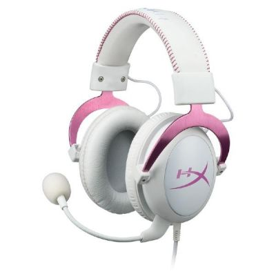 HyperX Cloud II Headset Pink PC/Mac/PS4/XBOX One