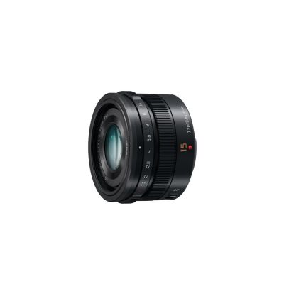Panasonic Leica DG SUMMILUX 15mm f/1.7 Weitwinkel Objektiv schwarz (H-X015) - Preisvergleich