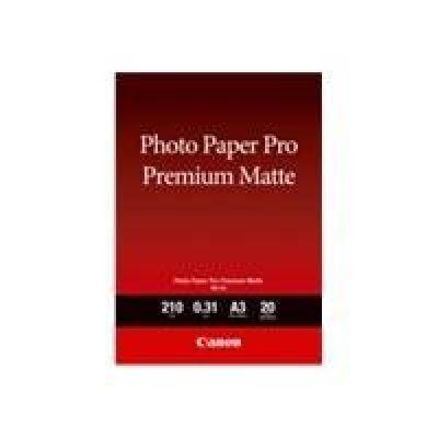 Canon 8657B006 PM-101 Pro Premium Matte A3, 20 Blatt, 210 g - Preisvergleich