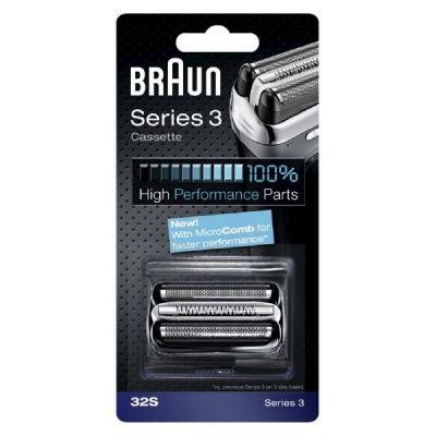 Braun  32S Scherteile Kombipack silber für Series 3