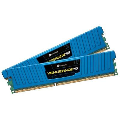 Corsair 16GB (2x8GB)  Vengeance Low Profile DDR3-1600 CL109 (10-10-10-27) RAM Kit
