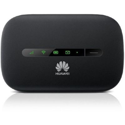 Huawei E5330 3G MIFI Wifi Router Mobiler Hotspot 21Mbps (ohne SIM-Lock) schwarz - Preisvergleich