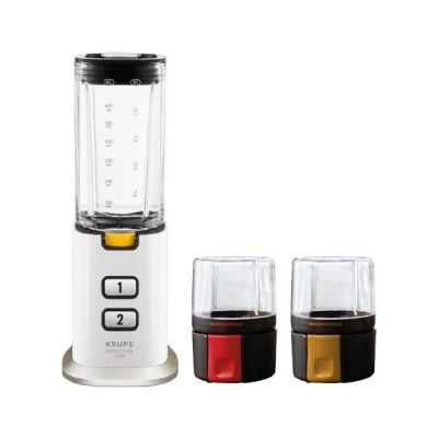 Krups KB 3031 White Collection Mini-Standmixer Perfect Mix 9000 Weiß