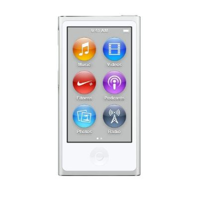 Apple  iPod nano 16 GB - Silber