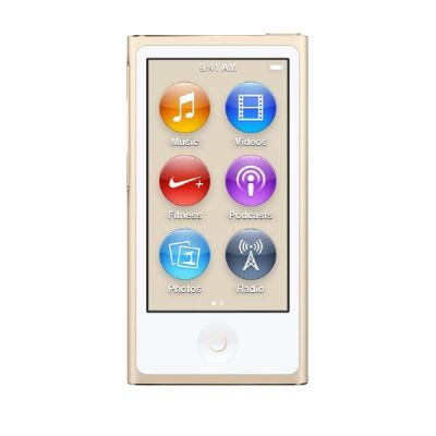 Apple  iPod nano 16 GB - Gold
