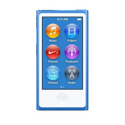 Apple  iPod nano 16 GB - Blau