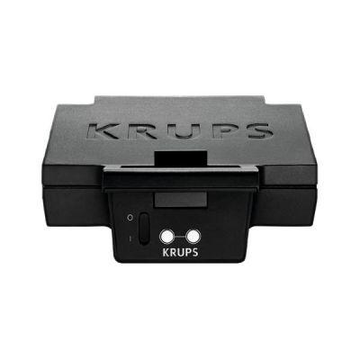 Krups  F DK4 51 Sandwich Toaster 850 Watt Schwarz Matt