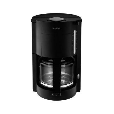 F 309 08 Glas-Kaffeemaschinen Proaroma Schwarz Matt