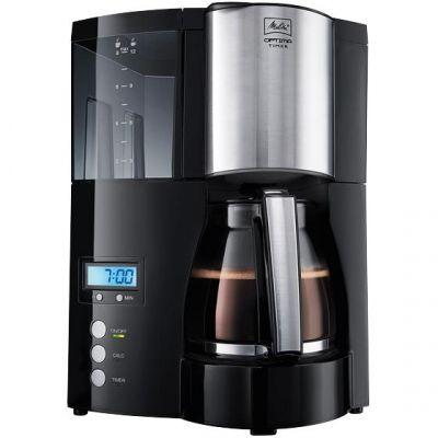 Melitta Optima Timer 100801 BK Kaffeemaschine schwarz