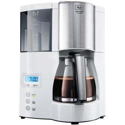Melitta  Optima Timer 100801 Kaffemaschine weiß