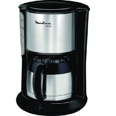 Moulinex FT3608 Thermo-Kaffeemaschine Subito Edelstahl Matt/Schwarz