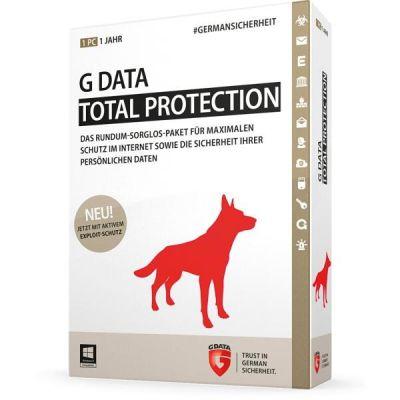 G Data G DATA Total Protection 10 Lizenzen 1 Jahr Renewal - ESD