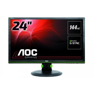 "AOC  G2460PG 61cm (24"") 16:9 Full HD Monitor DP 1 ms 80Mio:1 LS G-Sync"