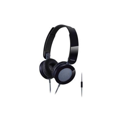 Panasonic RP-HXS200MEK On Ear Street Kopfhörer mit Mikrofon Schwarz