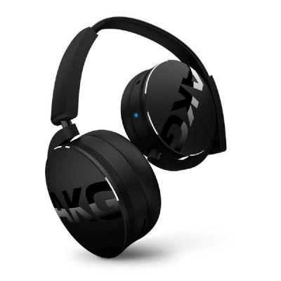 AKG  Y 50BT Black On Ear Kopfhörer mit Bluetooth-  Schwarz