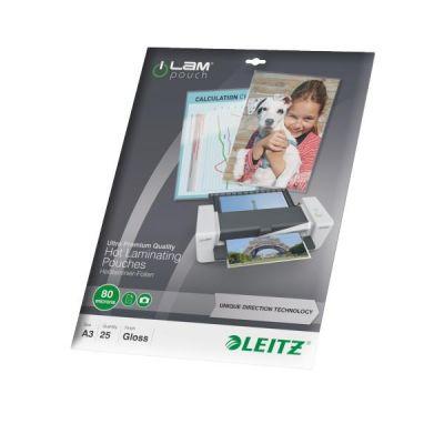 Leitz iLAM 74860000 UDT Heißlaminierfolien A3, ...