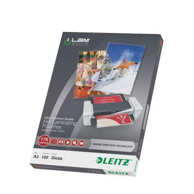 Leitz iLAM 74900000 UDT Heißlaminierfolien A3, ...