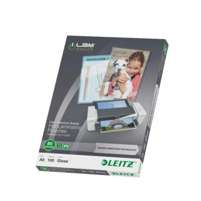 Leitz iLAM 74920000 UDT Heißlaminierfolien A5, ...