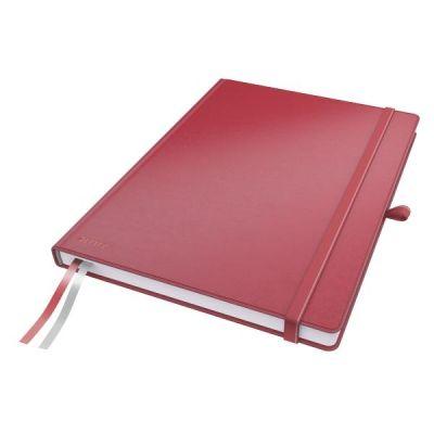 Leitz  Complete 44710025 Notizbuch A4 rot kariert