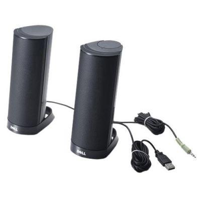 Dell Stereo-Lautsprecher-System AX210CR Schwarz (520-AAFU)