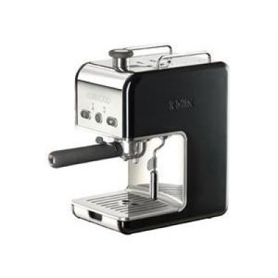 Kenwood ES 020BK kMix Espressomaschine Siebträger, schwarz