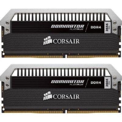 Corsair 16GB (2x8GB)  Dominator Platinum DDR4-2666 CL15 (15-17-17-35) DIMM-Kit