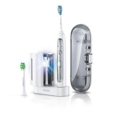 Philips Sonicare HX9172/15 FlexCare Platinum Schallzahnbürste + UV-Desinfektion - Preisvergleich