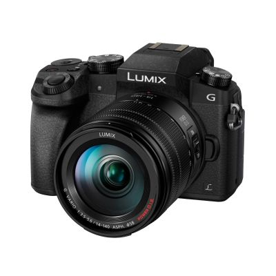 Lumix DMC-G70 Kit 14-140mm Systemkamera schwarz