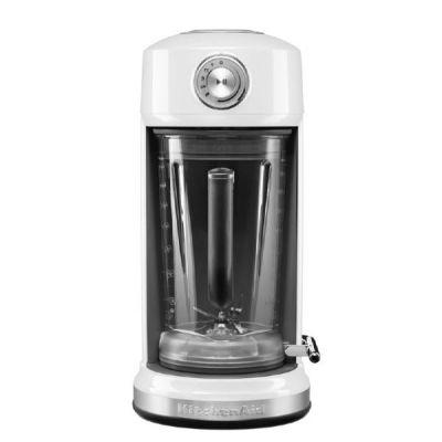 KitchenAid Classic 5KSB5075EWH Magnetic Drive Standmixer 1.300 Watt weiß