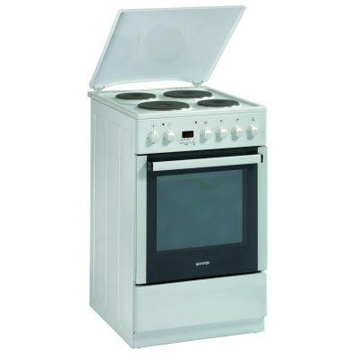 E52303AW Elektroherd Standgerät A 50cm Timer Weiß