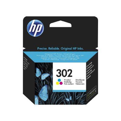 HP 302 Original Druckerpatronen farbig Cyan Magenta Gelb F6U65AE - Preisvergleich