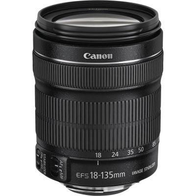 Canon  EF-S 18-135/3.5-5.6 IS STM + EW-73B + LC KIT inkl. Gegenlichtblende und Reinigungstuch