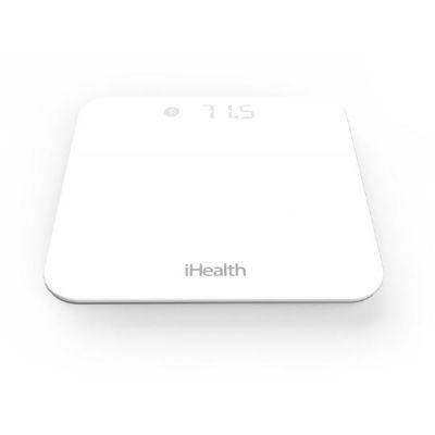 iHealth  Lite Körperanalysewaage Bluetooth für iOS silber