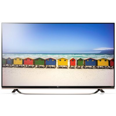 LG 65UF8519 3D LED 4K UHD Fernseher + LG G3 Smartphone Gold