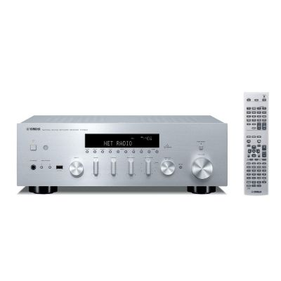 R-N500 Stereo Receiver DLNA AirPlay silber
