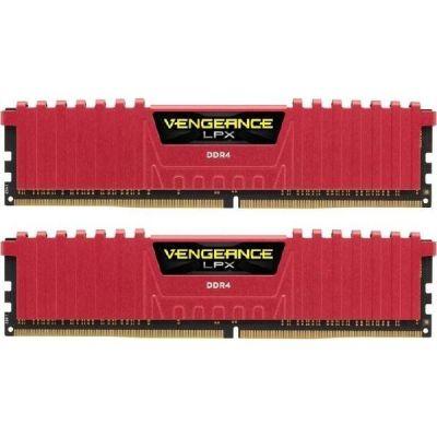 Corsair 16GB (2x8GB)  Vengeance LPX Rot DDR4-2400MHz CL14 (CL14-16-16-31) RAM