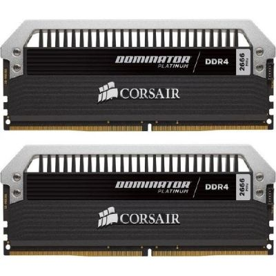 Corsair 16GB (2x8GB)  Dominator Platinum DDR4-3000 CL15 (15-17-17-35) DIMM-Kit